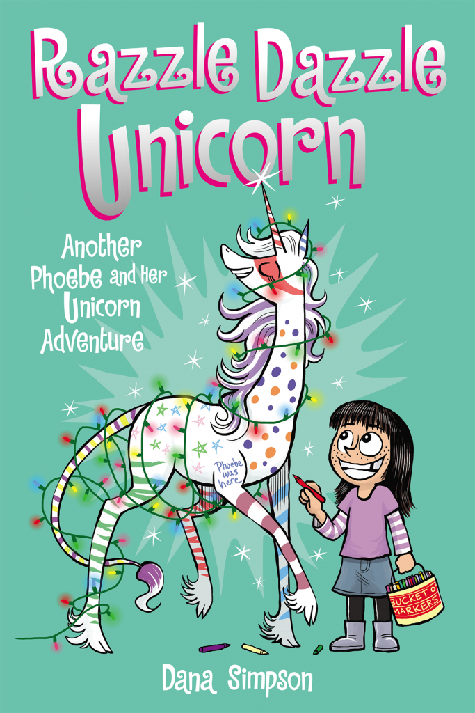 razzle dazzle unicorn cover